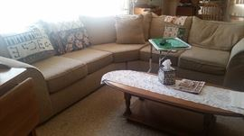 Clean comfy section sofa $250