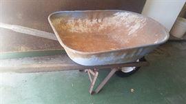 Strong wheelbarrow $15