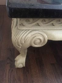 Carved Coffee Table (Gorman's Furniture)