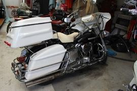 3 - 1975 all original Harley Motorcycle, all original, 18,000 miles