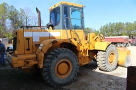 11 - Front end loader, mid 1990's Model Hyundai Model 750 Fully operational
