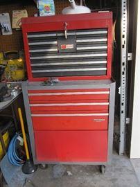 vintage crafstman tool box
