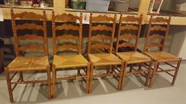 Ladder back chairs    $40 each