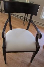 6 near perfect dining chairs. I really love these. Milling Road