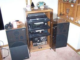 OLDER ELECTRONICS, SPEAKERS & SMALLS