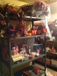Many holiday decorations