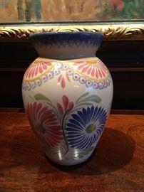 Quimper vase.