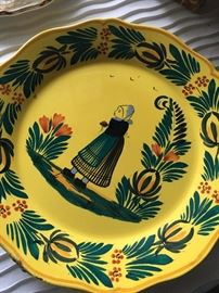 Quimper plates.