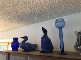 Glassware decor