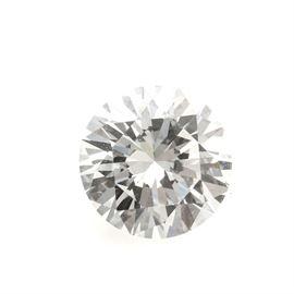 Loose Round Brilliant Cut Diamond: A loose round brilliant cut diamond.