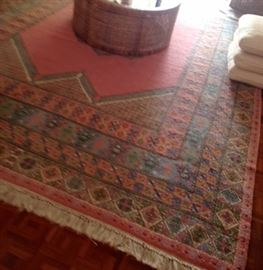"""purchased in Morocco 8.6"""" x 12'4"""""""