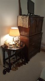 Nice Chest of Drawers, Drop Leaf Table, Lam, Shoe Trees