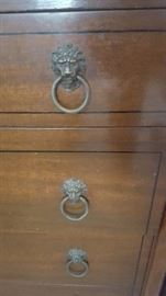 Hardware for 3 Piece Dresser & Chest of Drawers
