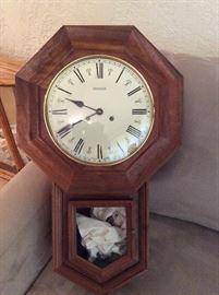 Emperor wall clock