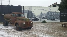 1945 Ford Tanker, located in Davison $1995