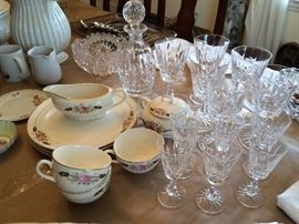 Waterford crystal Rosslare stemware