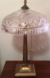 Deco Style Lamp, One of Two
