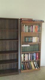 7 bookshelves light or dark