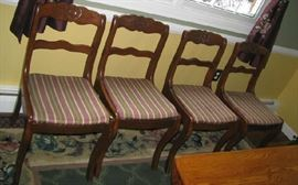 4 chair set