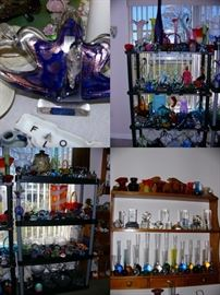 MURONO, PAPER WEIGHTS, VASES, ETC.