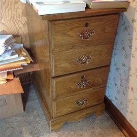 2 Drawer File Cabinet $ 30.00