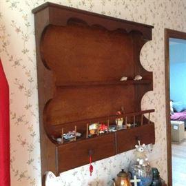 Vintage Display Shelf $ 60.00