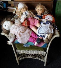 dolls, Raggedy Ann