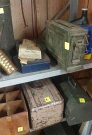 ammo box, tool box, fishing box