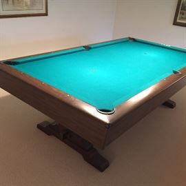 Mid Century Brunswick Pool Table