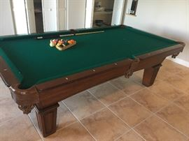 Olhausen Pool Table, new felt