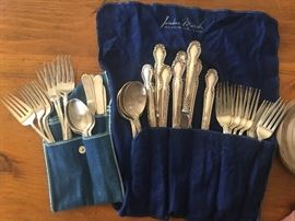 Rogers 43 piece Sterling Silver flatware set