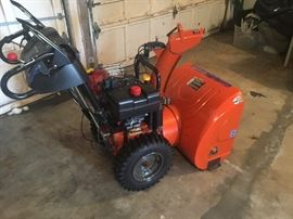 Brand New Husqvarna Snow Blower, used three times