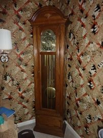 Seth Thomas handmade Grandfather clock.  Excellent condition, serviced less than 1 year ago and working