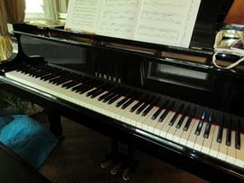 Yamaha baby grand C-3  Purchased new in 1998