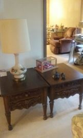 Antique Lamp still available (Note: end tables and car are now sold)