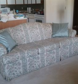 Sofa... let's see, 1/2 of $20 is...