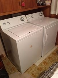 Whirlpool washer/GE dryer