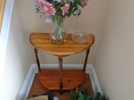 Small two-tiered table