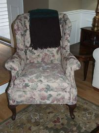 MATCHING WING BACK CHAIRS THAT MATCH THE SOFA FROM NORWALK FURNITURE COMPANY.