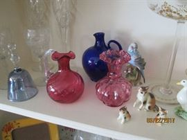 Wonderful collectibles throughout house