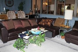 Sectional, Tables, Lamps, Bar Stools, etc.