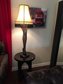 "40"" Full Size Leg Lamp from A Christmas Story Movie."