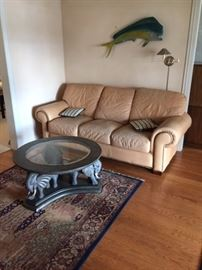 COUCH and Elephant coffee table