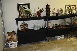 Bird Cage, Decorator Fans, Ruby Glass, Figurines, Pitcher and Bowl, Art Glass, Antique Planers, Vases, Asian Art