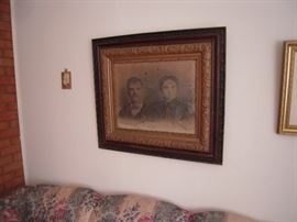 OLD FRAMED PHOTO