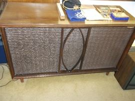 Vintage stereo/record player.
