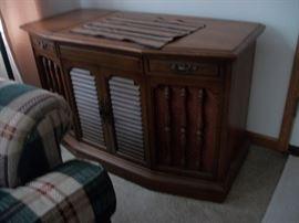 small RCA Stereo console