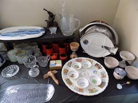 Man Judaica items