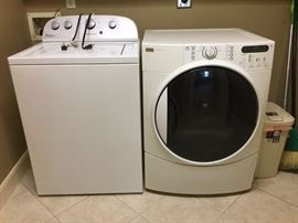 Whirlpool washer and gas Kenmore dryer