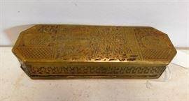 17th Century Dutch Tobacco Box (Dated 1572)